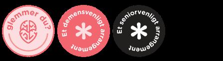 Logoer Glemmer du, Demensvenligt og Seniorvenligt
