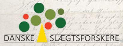 Logo for Danske Slægtsforskere Varde.