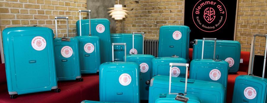Massevis af kufferter fulde af oplevelser for demensramte og deres pårørende
