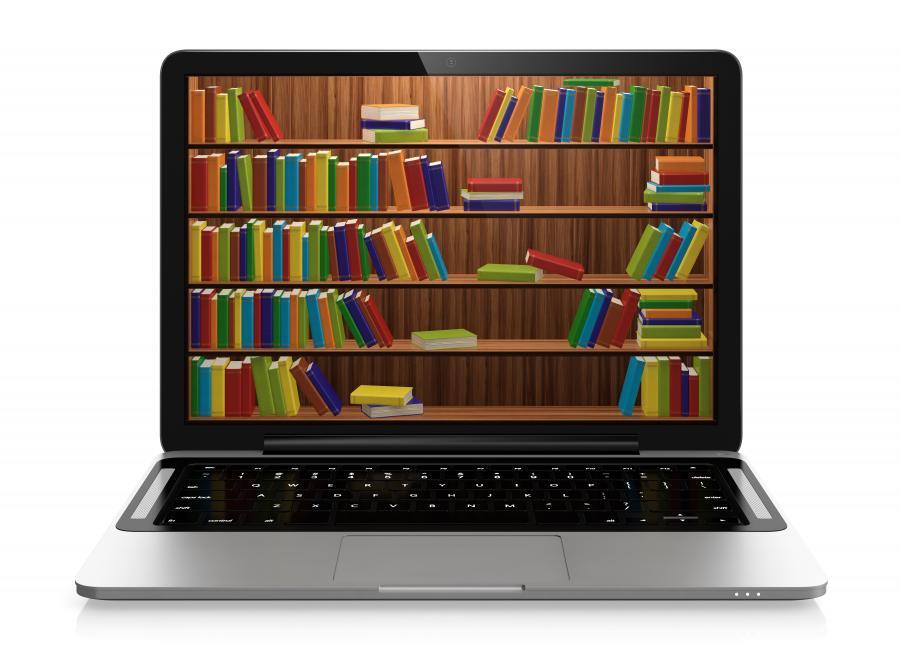 Pc med bøger
