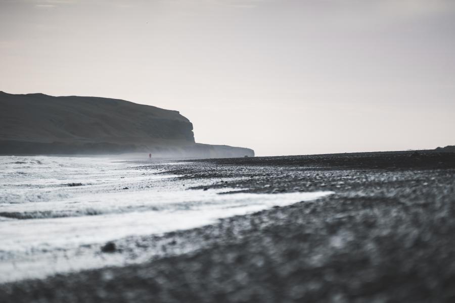 Islandsk strand