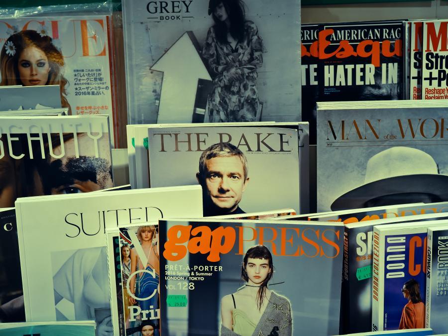 Magasiner og tidsskrifter på nettet