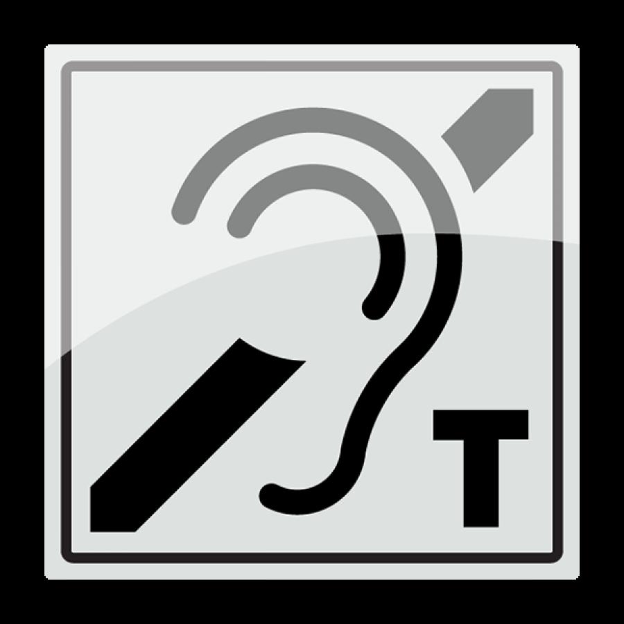 Piktogram med teleslynge